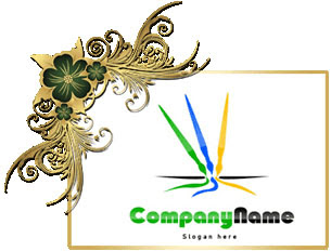 تحميل تصميم شعار فراشي مفتوح جاهز للفوتوشوب, psd brushs logo design download