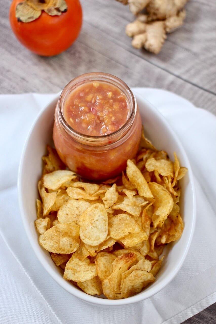 Kaki-Chili-Dip
