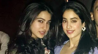 Jhanvi Kapoor on a Competition with Sara Ali Khan