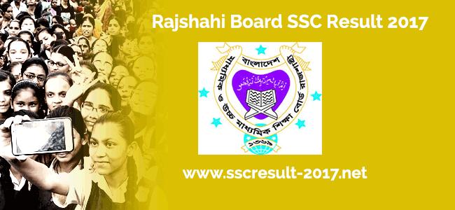 Rajshahi Board SSC Result 2017