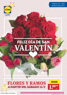 """Catálogo Lidl """"Feliz Día de San Valentín"""" 2017"""