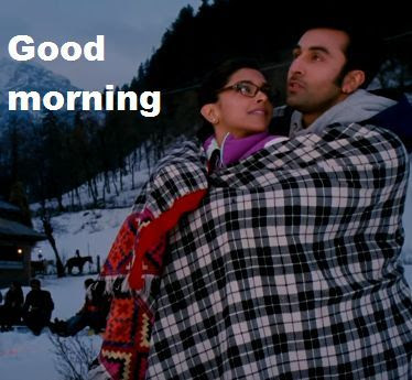 romantic good morning image for wife
