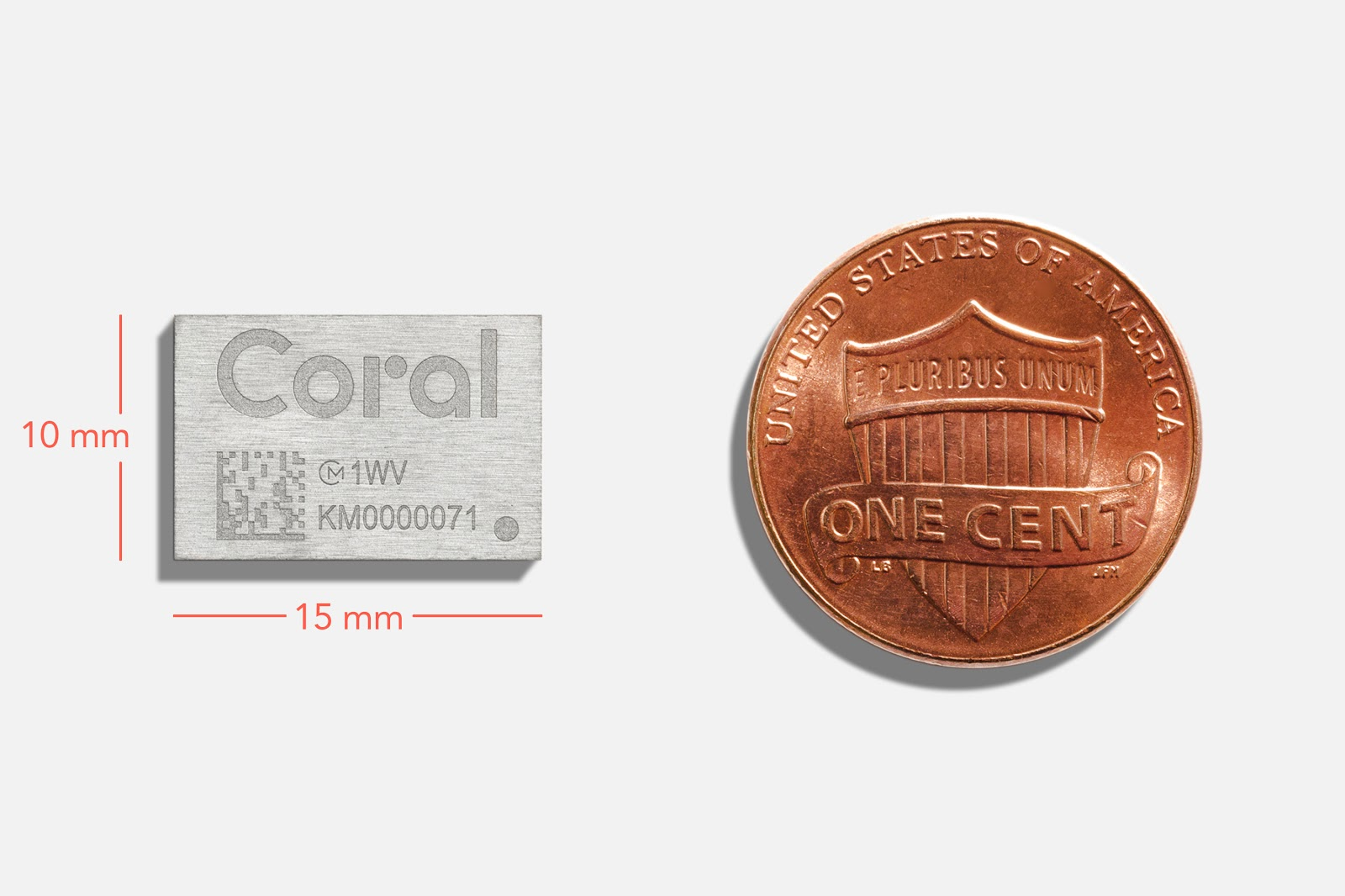 Coral Accelerator Module, a new multi-chip module with Google Edge TPU
