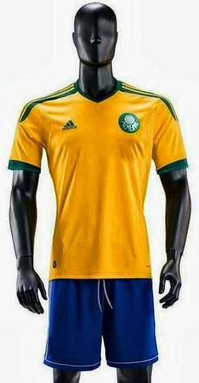 Adidas enseña a través del Palmeiras cómo sería su diseño de la camiseta de Brasil