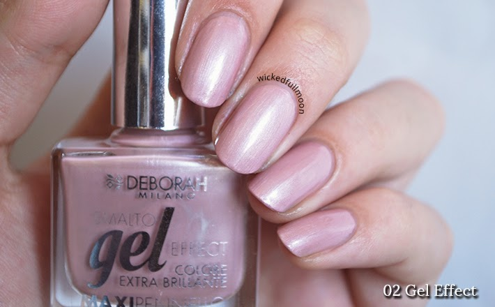 Wicked Fullmoon: | Review & Swatches | Esmaltes Gel Effect Deborah Milano