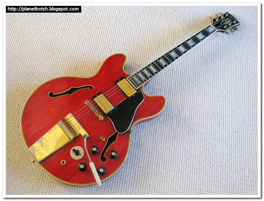 1972 Gibson ES-355TD-SV semi-solid cherry red