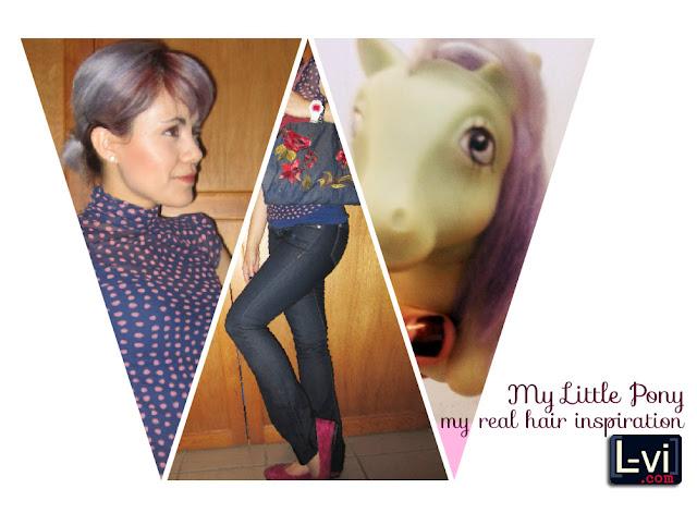 My Little Pony: my real hair inspiration. L-vi.com