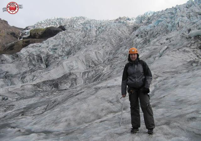 Excursión con crampones en glaciar Fallsjökull, Islandia