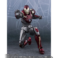 "S.H.Figuarts Iron Man Mark XLVII de ""Spider-Man Homecoming"" Tamashii Nations"