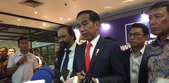 Soal Deklarasi #2019GantiPresiden, Jokowi Bilang Ada Batasannya