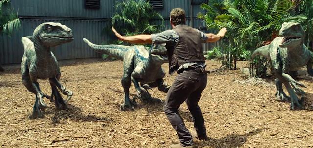 Blue, Charlie, Echo şi Delta sunt Velociraptorii ce ajută la anihilarea lui Indominus Rex în Jurassic World