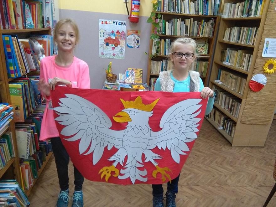 Biblioteka W Kruszwicy 11 Listopada święto Niepodległości