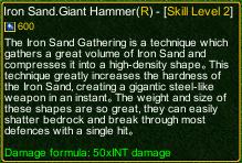 naruto castle defense 6.0 sasori iron sand gathering giant hammer detail