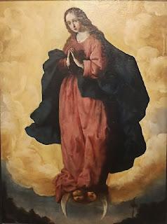 Z01 Francisco de Zurbarán - Inmaculada Concepción 1625 - Colección Joaquín Rivero (Bodegas Tradición) - Jerez