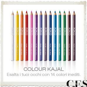 Colour Kajal KIKO Active Colours