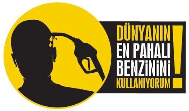 pahalı benzin fotoğrafı