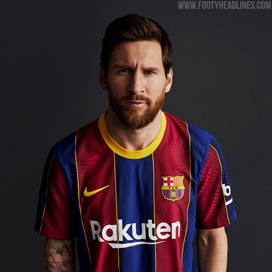 fc barcelona 20 21 home kit released replica finally available after quality issues footy headlines fc barcelona 20 21 home kit released