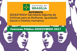 SEDESTMIDH Concurso Público 2017