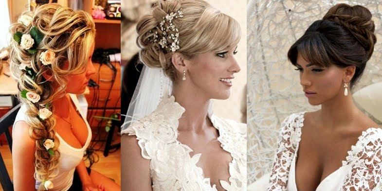Awe Inspiring Adorable Bridal Hairstyles With Bangs Short Hairstyles Gunalazisus