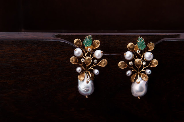 Rasa Alambana Pearl Earrings