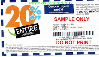 free Bed Bath and Beyond coupons for april 2017