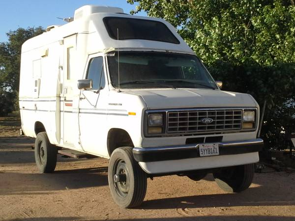 1990 Ford E250 4x4 Expedition RV