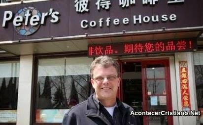 Misionero cristiano en China