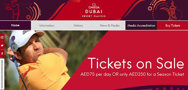 Dubai Desert Classic Buy Tickets Online