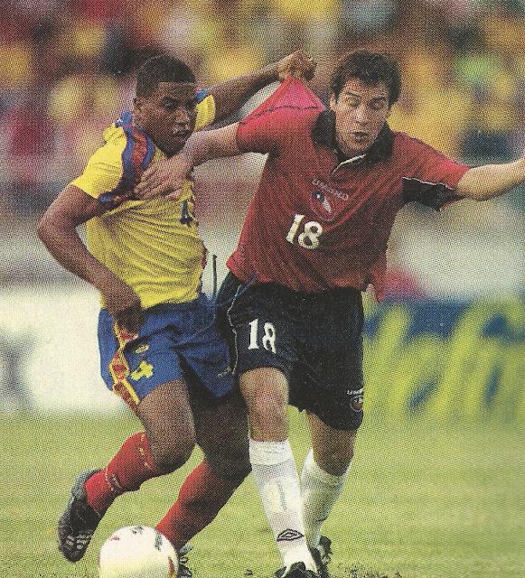 Ecuador y Chile en Copa América 2001, 11 de julio