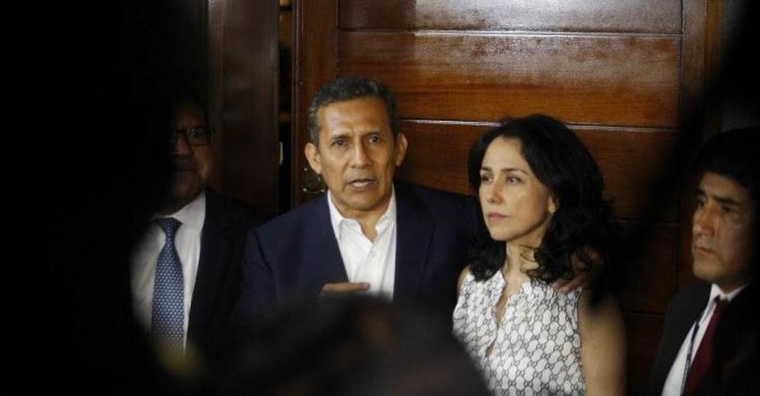 Ollanta Humala y Nadine Heredia, salen de la cárcel tras nueve meses de prisión preventiva
