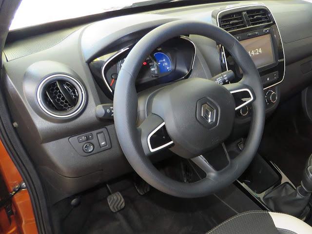Renault Kwid 2018 - volante