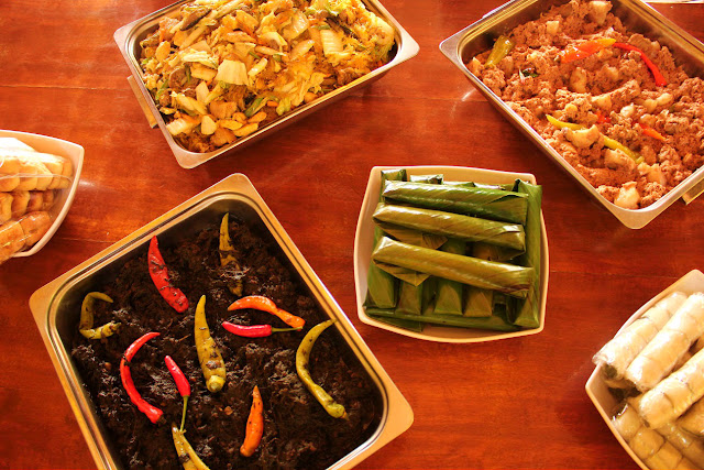 bicolano dishes and food