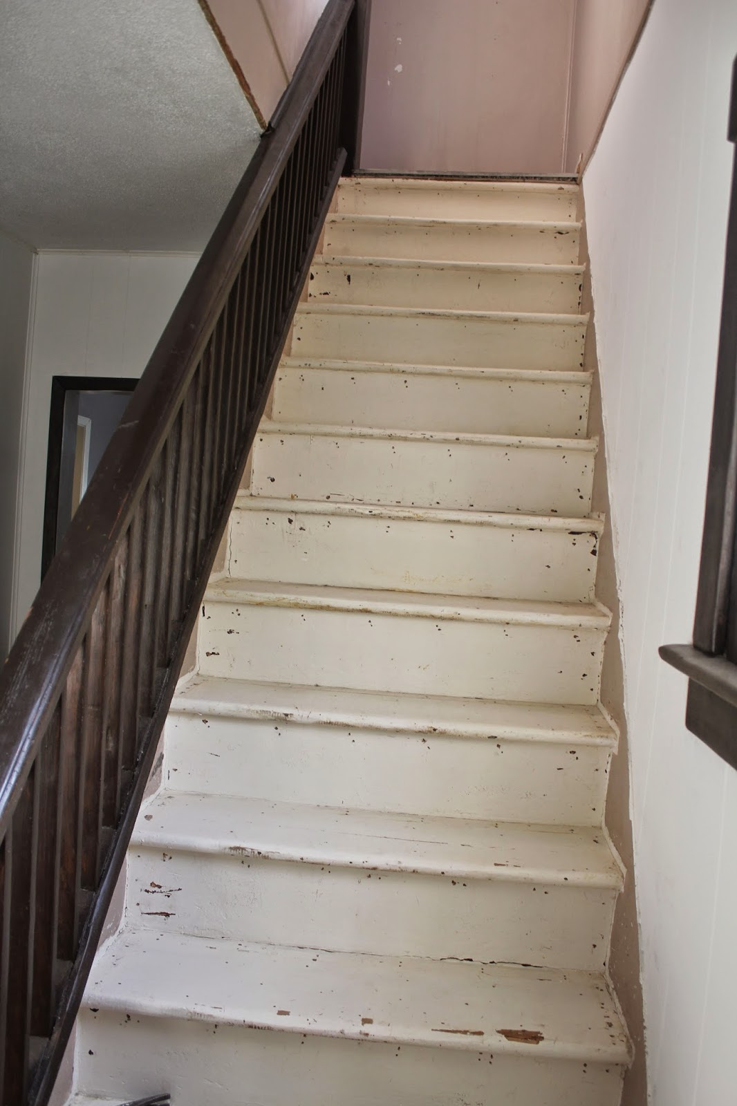 Stripping And Sanding Painted Stairs A Bit Of Bermuda