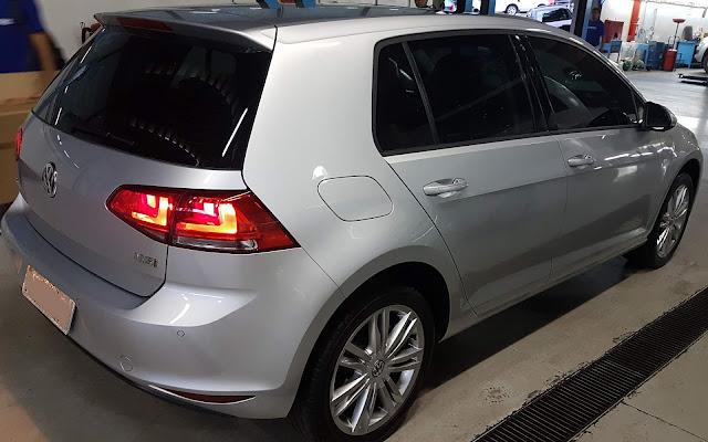 VW Golf 1.6 2016 Flex Automático - revisão