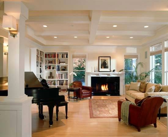 ديكورات مختلفه وصور لغرف المعيشه Living Room