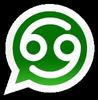 Iconos de los signos zodiacales para promocionar grupos de Whatsapp de cancer