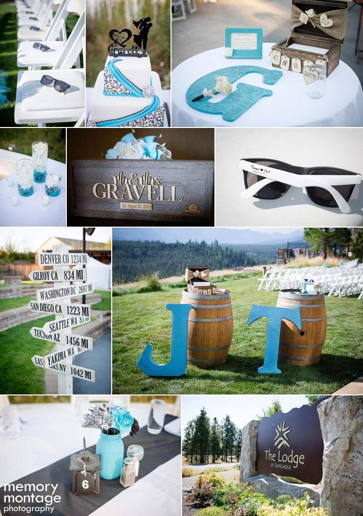 Suncadia Resort Wedding Photography || Tanya + Josh