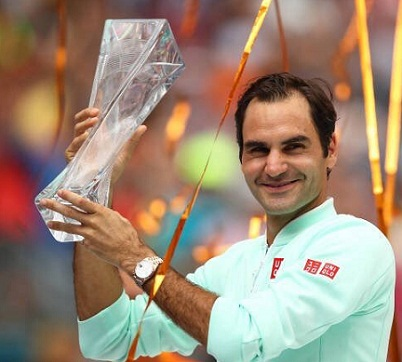 Federer wins 101st title over Isner, Barty first title in Miami Open final, Full list of Winners.