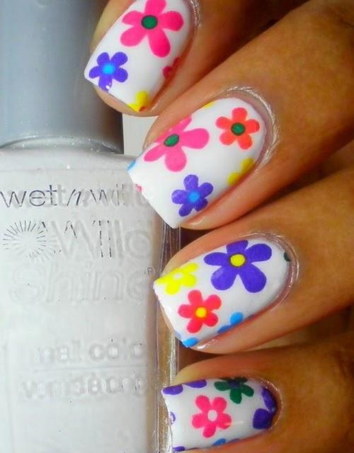 Uñas-flores