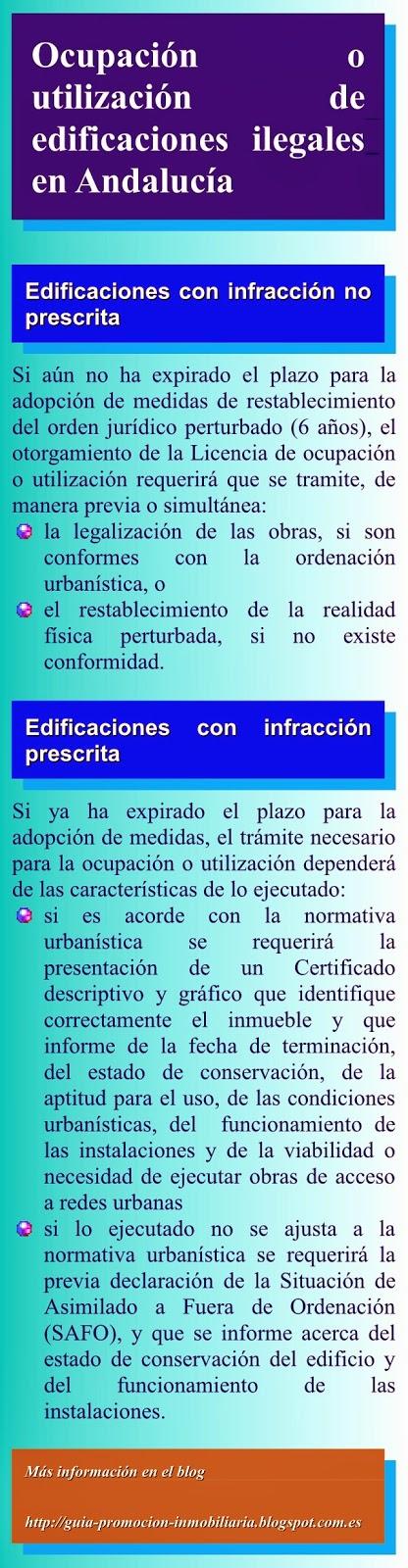Ocupación de edificaciones ilegales en Andalucía