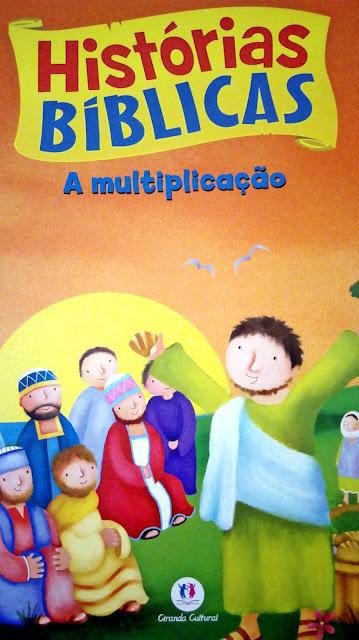 Achegue-se! Dicas para presentear - Histórias bíblicas - A multiplicação