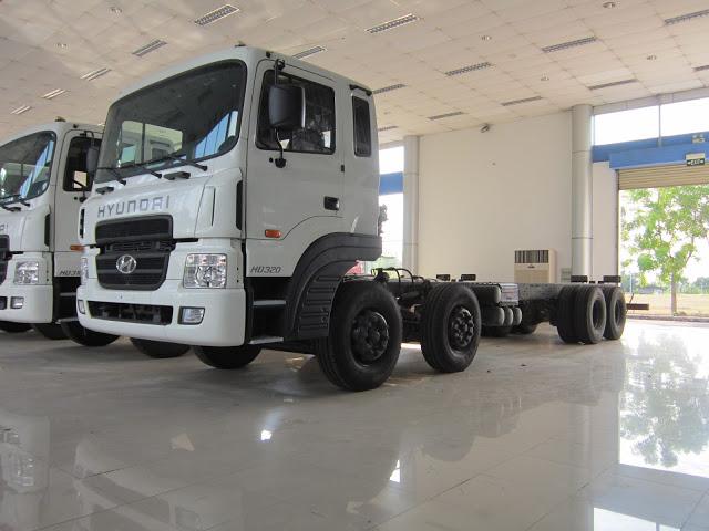 Hyundai 19 tấn nhập khẩu