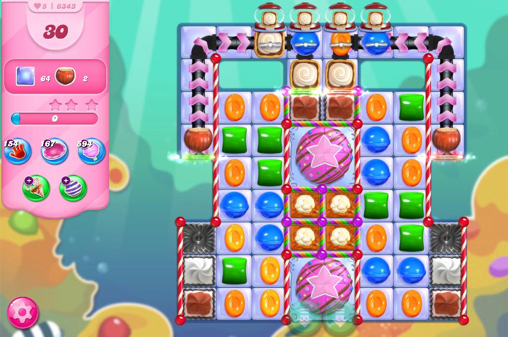 Candy Crush Saga level 6343