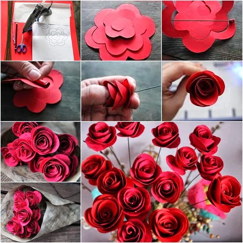 C mo hacer rosas para decorar paso a paso mi fiesta - Como secar una rosa ...