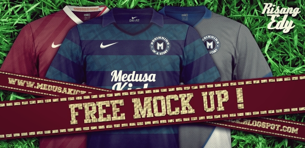 Medusakick Free Mockup And Full Service Design Mock Up Jersey Nike