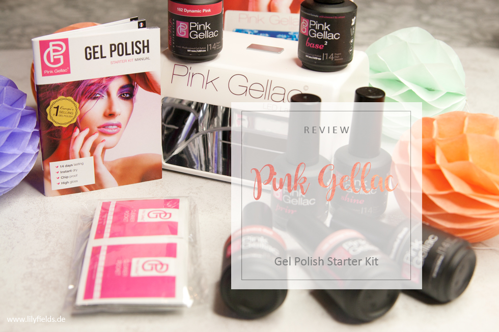 Pink Gellac - Starter Kit - Review