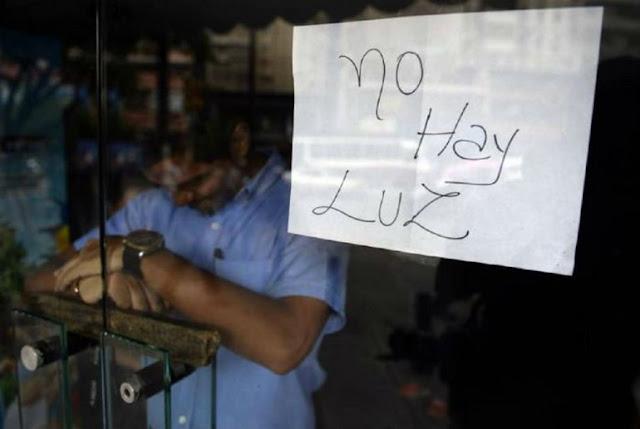Varios sectores de Caracas reportan fallas en el servicio eléctrico
