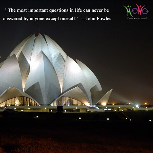 delhi quote lotus temple