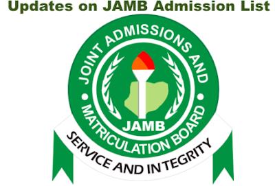 JAMB 2018/2019 Admission list - RecruitmentLogin.com