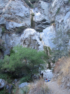Fish Canyon Falls with no water